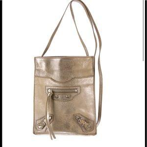 Balenciaga Milky way Metallic Crossbody bag